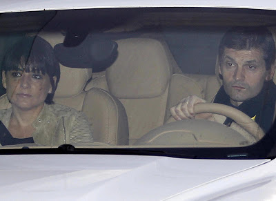Tito Vilanova and his girlfriend Montse Enchaure
