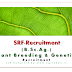 SRF recruitment-Plant Breeding & Genetics