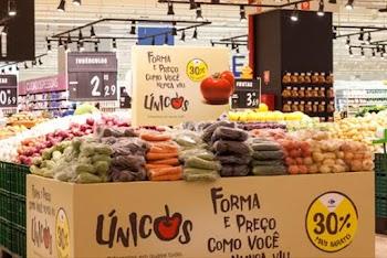 Carrefour amplia programa que comercializa com desconto alimentos fora do padrão estético