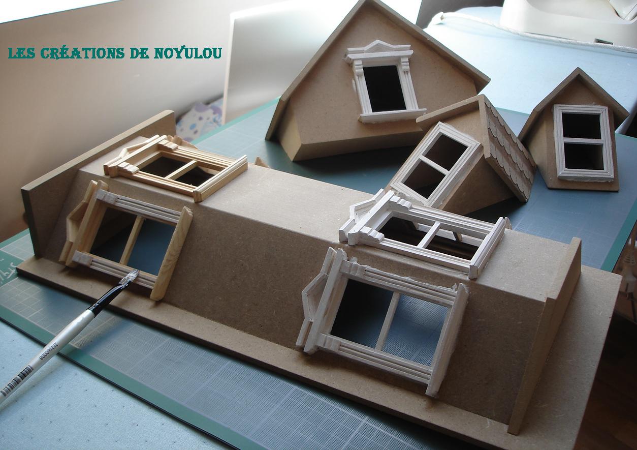 les creations de noyulou mise en peinture. Black Bedroom Furniture Sets. Home Design Ideas
