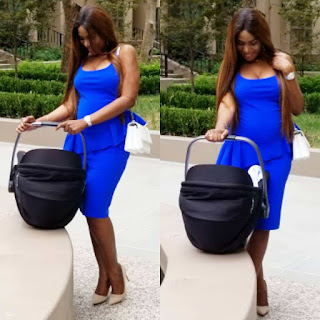 Linda Ikeji Steps Out With Her Son For The First Time, Shows Off Her Post-baby Bod