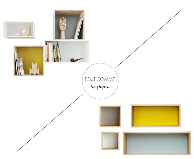 planche inspiration étagères mobilier par zeste-deco