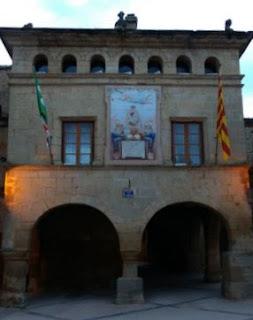Ayuntamiento de Horta de Sant Joan.