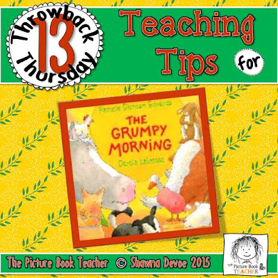 The Grumpy Morning by Pamela Duncan Edwards TBT - Teaching Tips.
