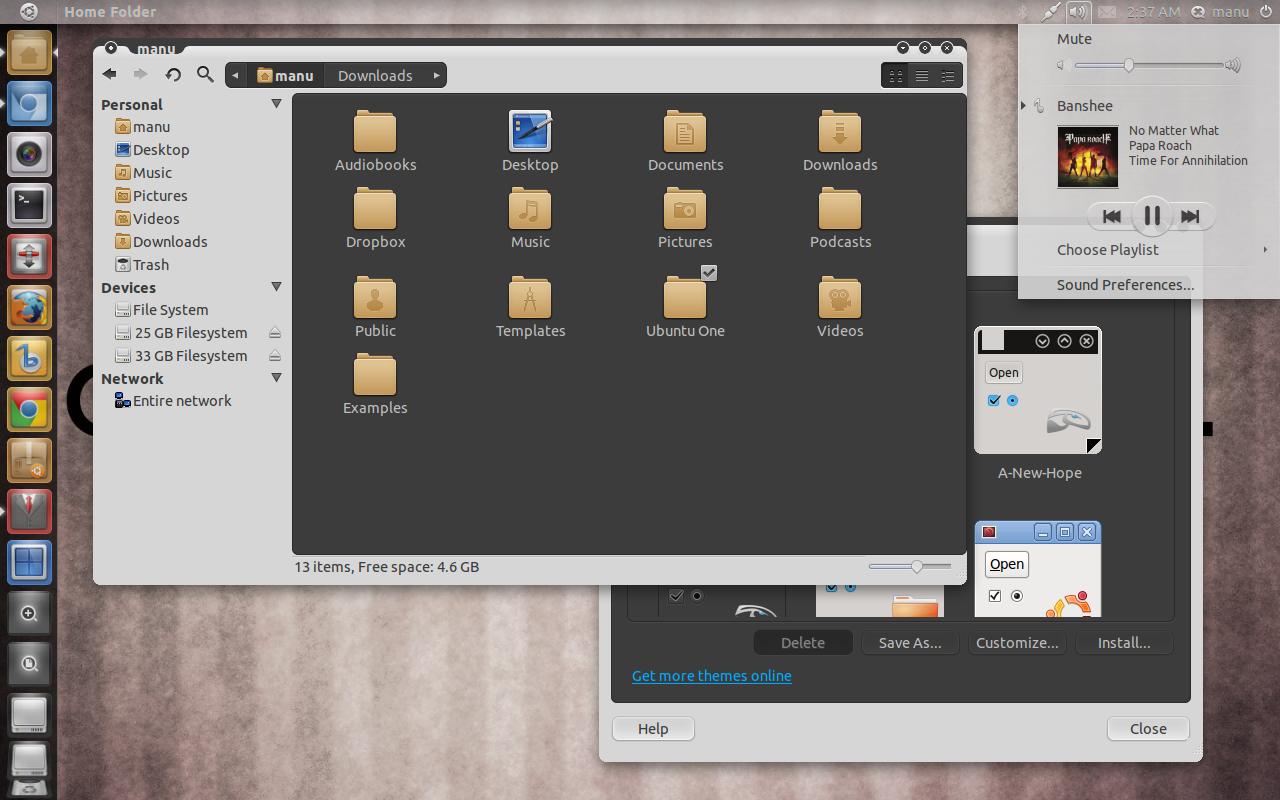 Top 6 Ubuntu 11 04 Themes to Make Natty Narwhal Look a Lot