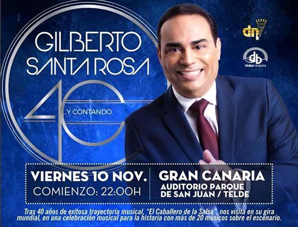 Concierto Gilberto Santa Rosa,  Telde, Gran Canaria