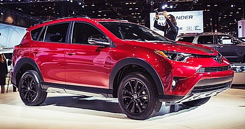 Toyota Rav4 Limited 4wd 2018
