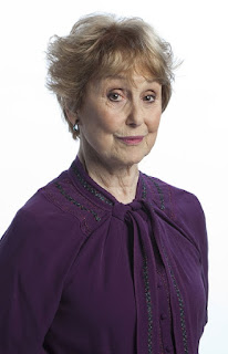 Una Stubbs as Mrs Hudson BBC Sherlock