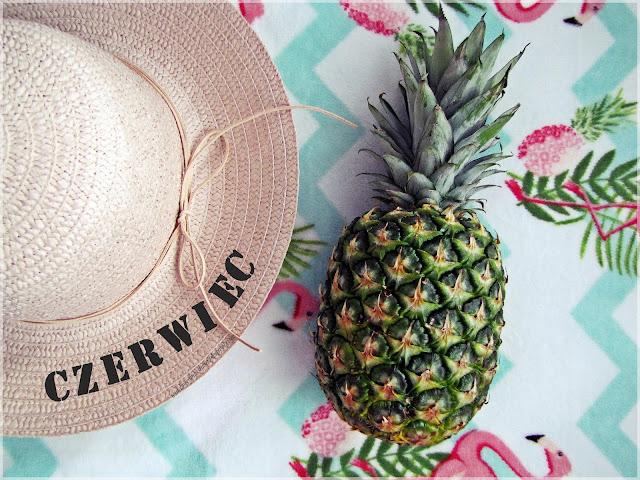 Kapelusz, ananas