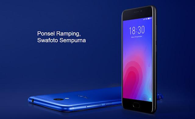 Spesifikasi Dan Harga Meizu M6, Hp harga 1 jutaan dengan sensor fingerprint