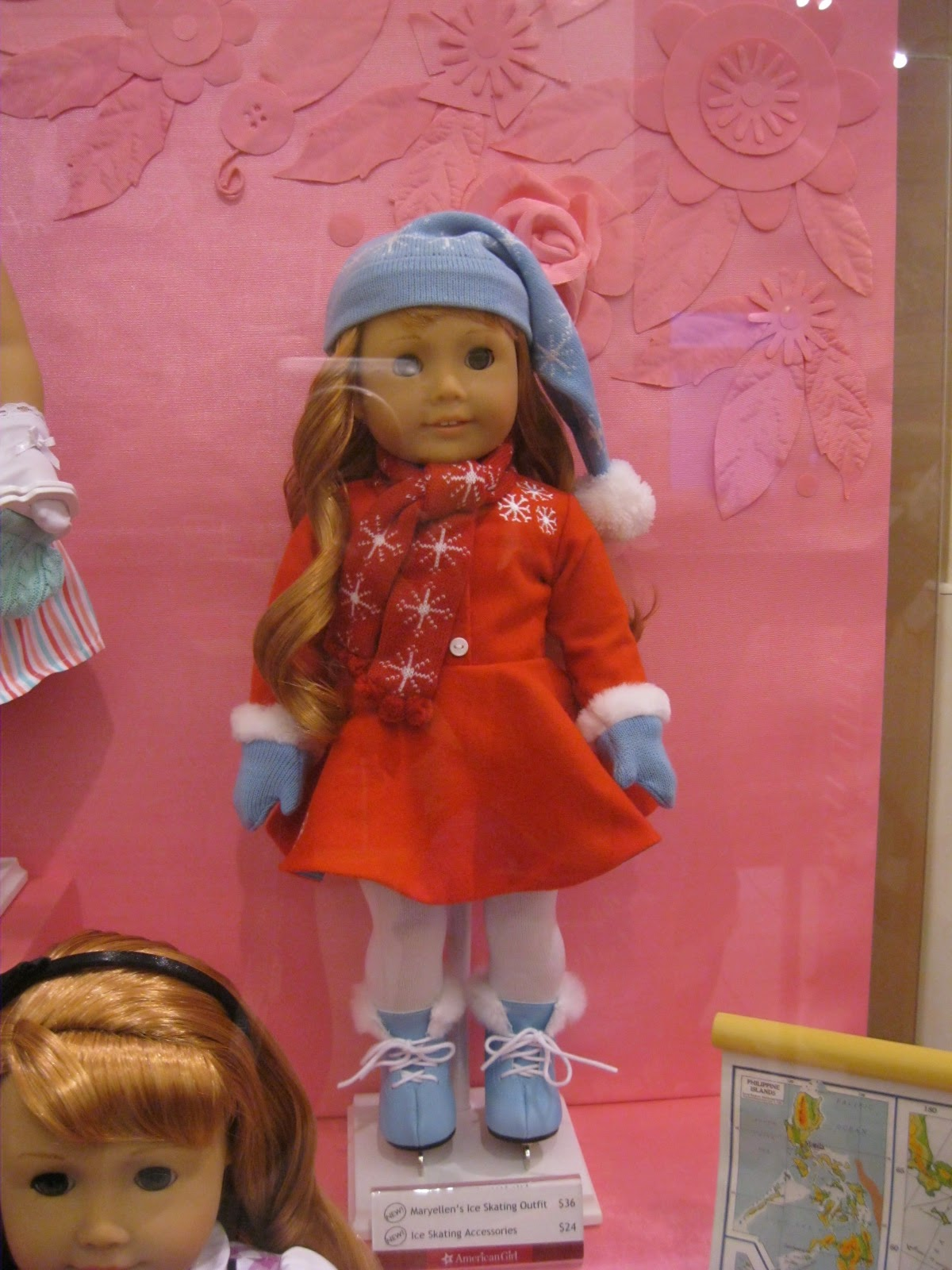 American Girl Maryellen/'s Ice Skating Outfit Dress Mary Ellen Skate/'s NEW