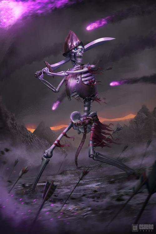 Ivan Sevic artstation arte ilustrações fantasia ficção científica games