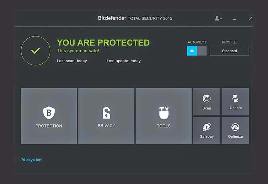 bitdefender total security 2018 crack with serial key download