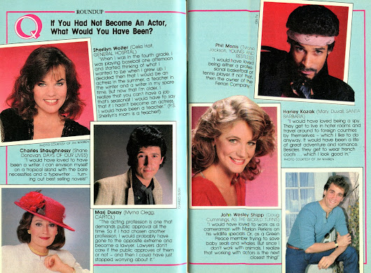 If You Had Not Became An Actor, What Would You Have Been-December 3, 1984 (SOD)