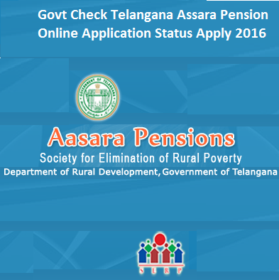Govt Check Telangana Assara Pension Online Application Status Apply 2016
