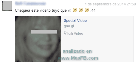 Special Video - Mas Facebook