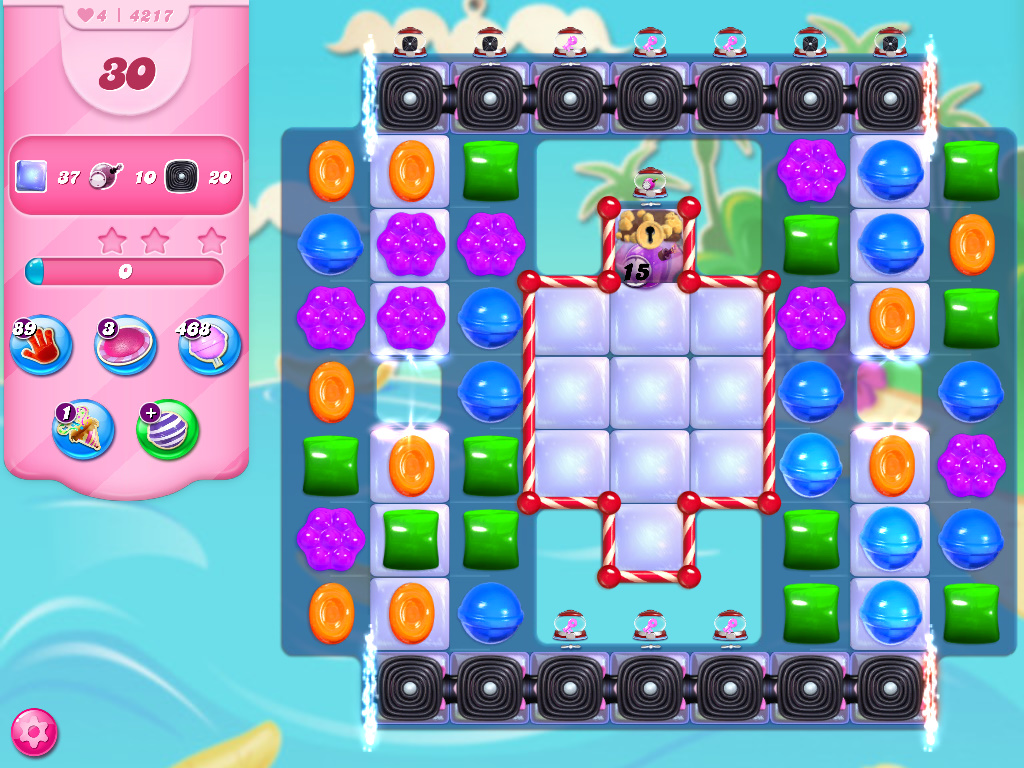 Candy Crush Saga level 4217
