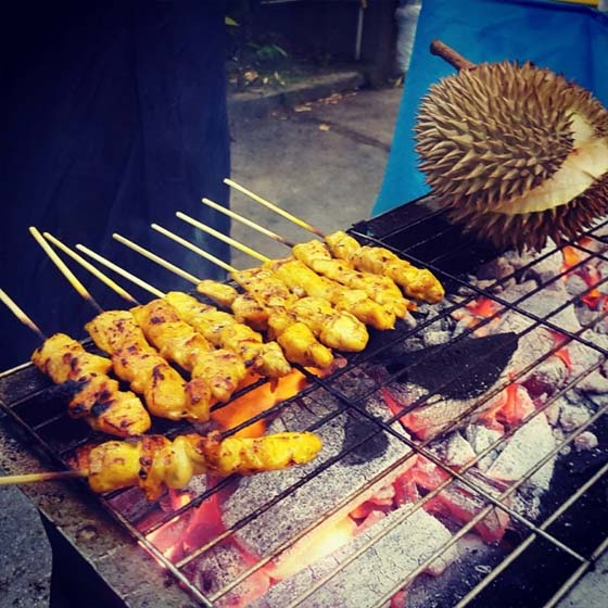 Sedap ke Durian Bakar?