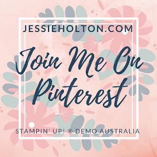 Jessie Holton - Stampin Up Demo Pinterest