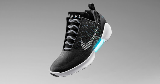Nike HyperAdapt 1.0 Inspired By Back To The Future On Sale November 28, 2016