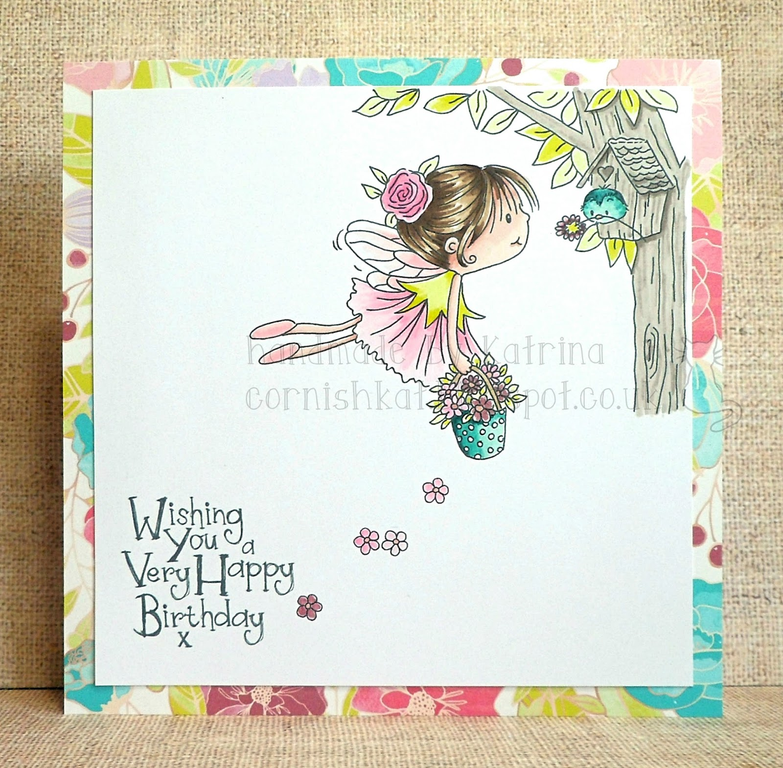 Katrinas crafting blog march 2018 there are 12 lovely new images coming out on monday at lili of the valley including four fairies this one is called birdhouse altavistaventures Image collections
