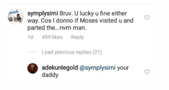 Savagery!! Simi Reacts To Adekunle Gold's New Hairstyle 3