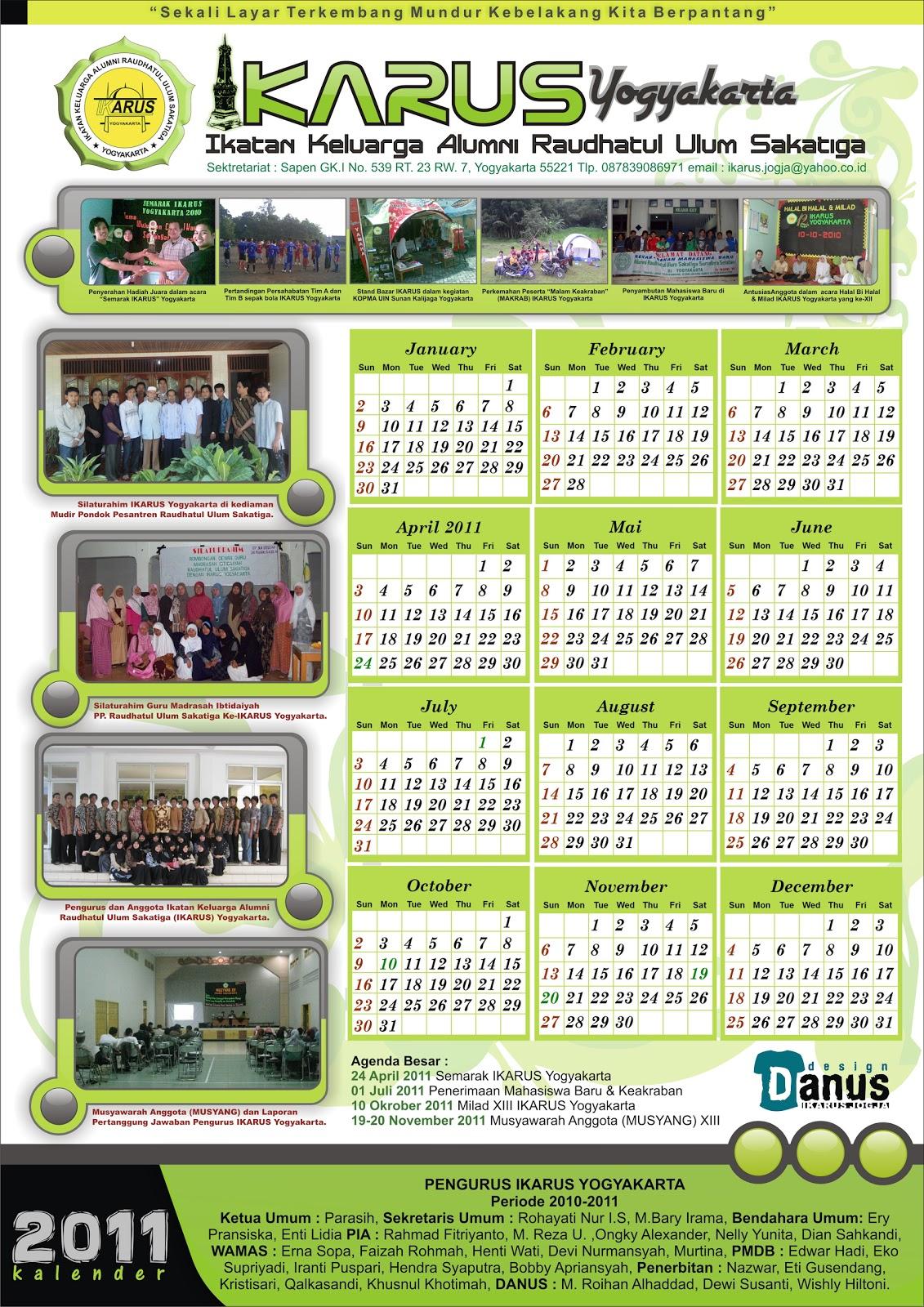Secangkir Teh Poci: Contoh Gambar & Design Kalender