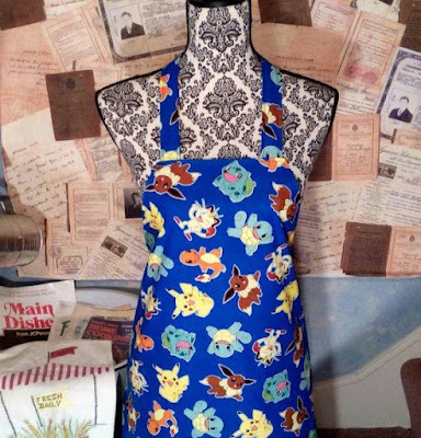 Pokemon Apron with Pocket