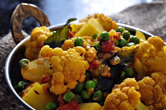 Homestyle Cauliflower Bhaji