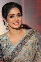 Sri Devi in designer saree stunning beauty at the launch of MOM movie Trailer~  Exclusive 120.JPG
