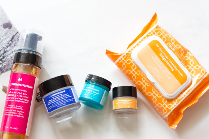 ole henriksen skincare regime and relaunch 2017