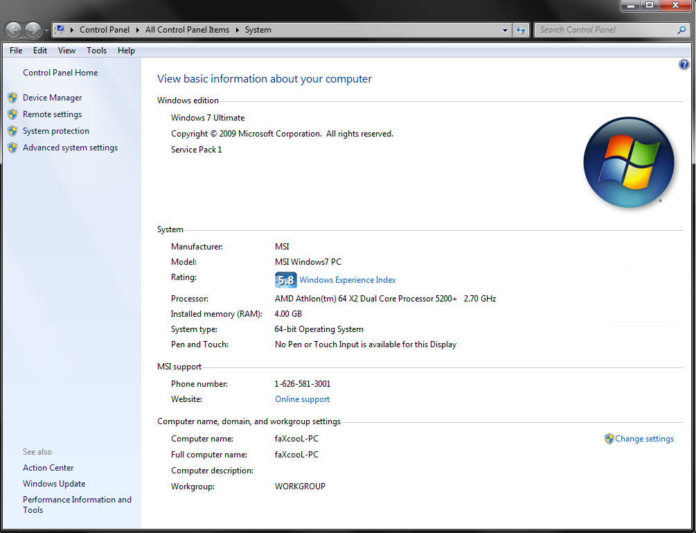 Windows 7 Ultimate Product Key 32/64 bit Free