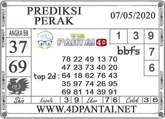 PREDIKSI TOGEL PERAK PANTAI4D 07 MEI 2020