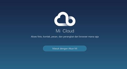 Cara Membuat Akun Mi Cloud di Xiaomi