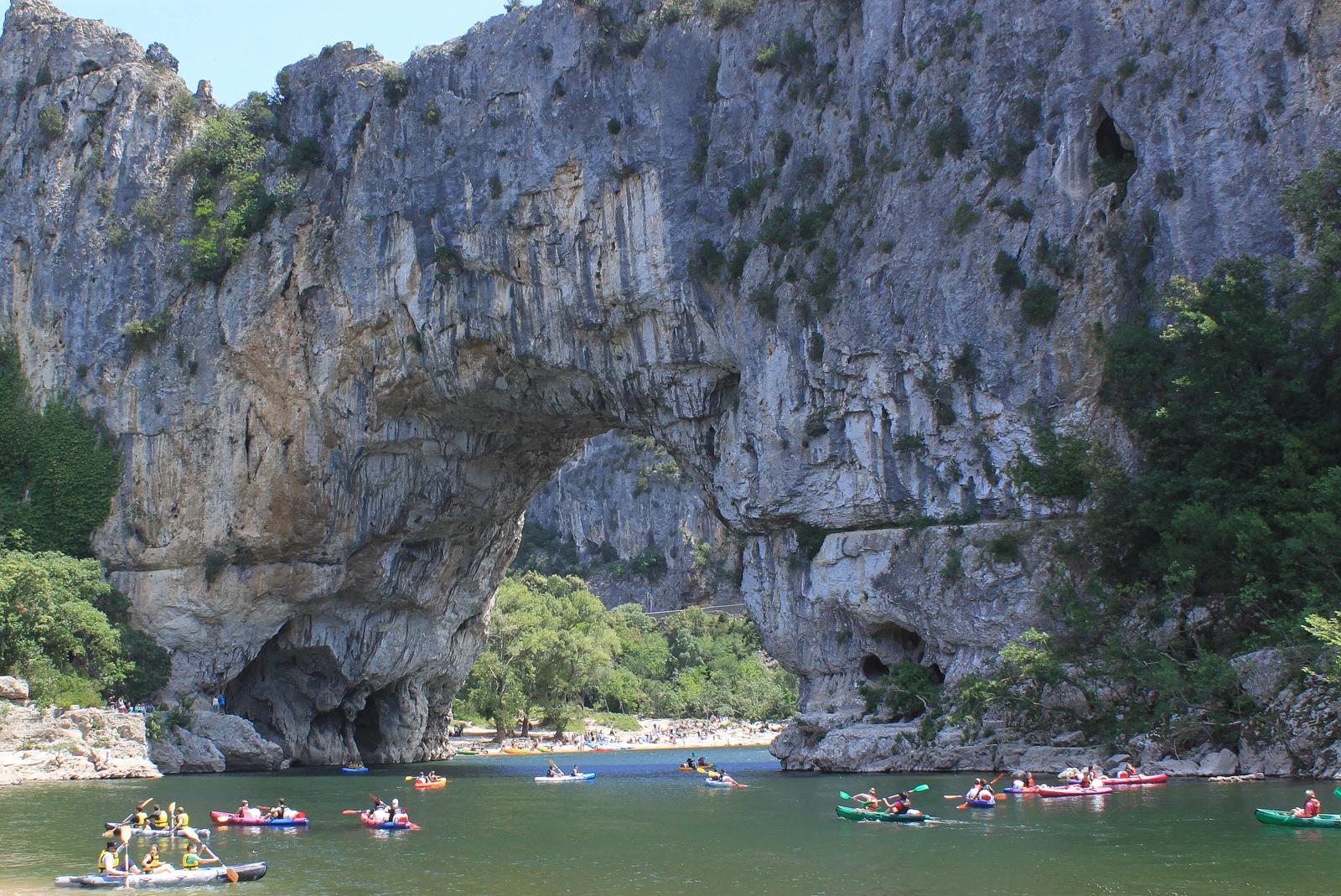 Ardèche - les Gorges de l'Ardèche