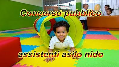 Concorso pubblico assistenti asilo nido (scrivisullapaginadeituisogni.blogspot.com)