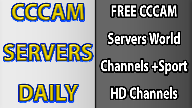 FREE CCCAM Servers World Channels +Sport HD Channels 26-2-2019