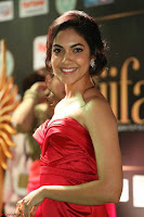 Reetu Varma smiling beauty in Deep Neck Red Gown at IIFA Utsavam Awards 2017  Day 2  Exclusive 04.JPG