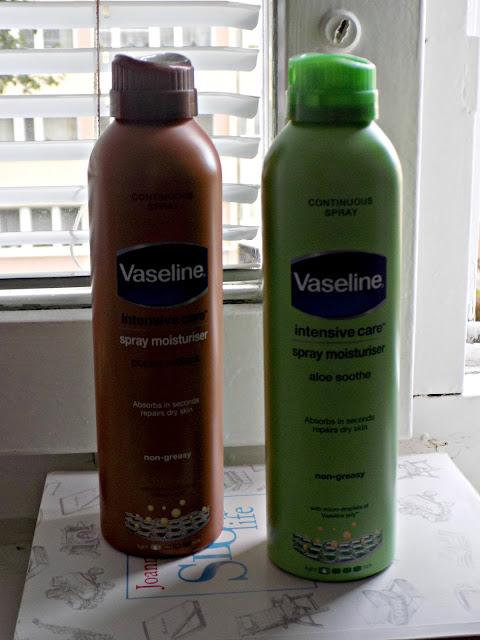 Vaseline Balsam w spreju - czy to działa?