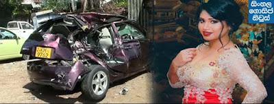 Upcoming actress Kavisha Ayeshani killed in Nugegoda accident - Updates