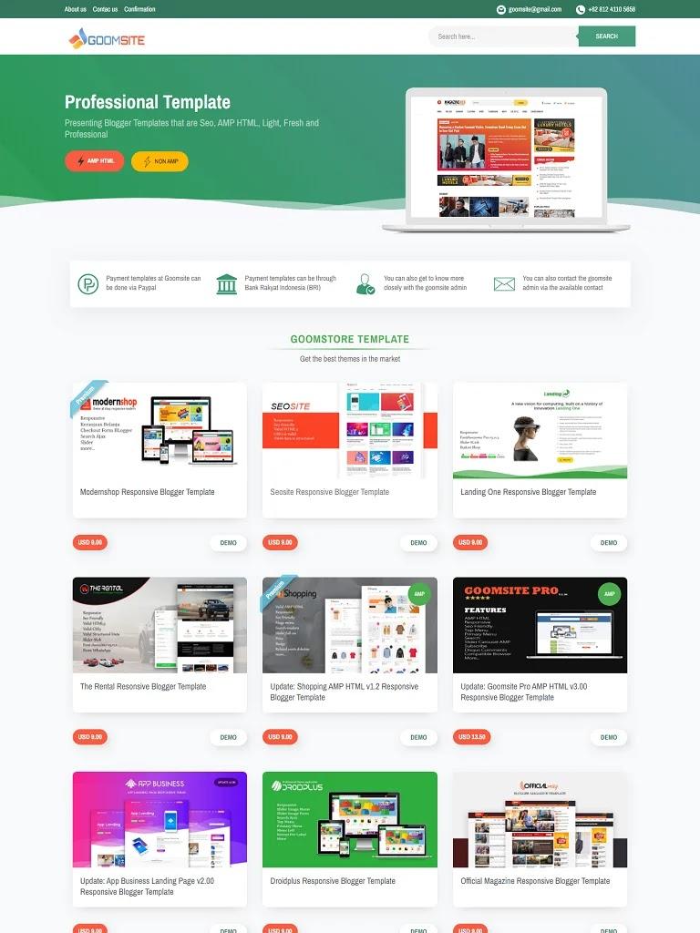 Template blogspot chuyên bán giao diện blogger chuẩn seo - Ảnh 1