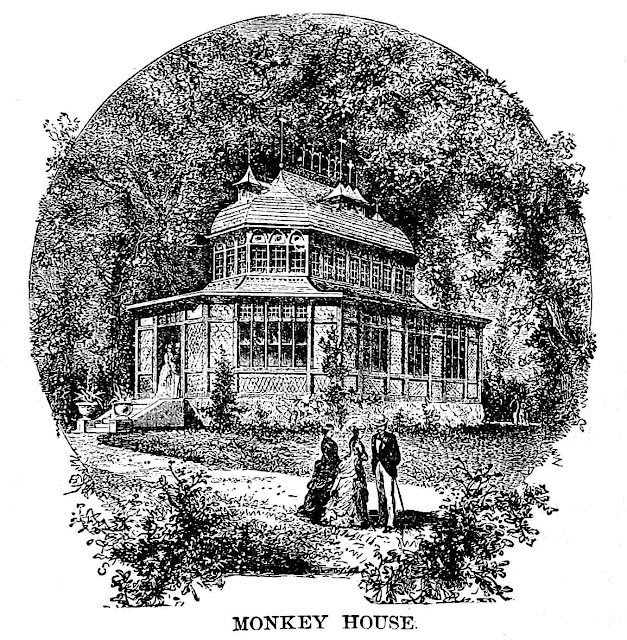 Centennial Exhibition of 1876 monkey house