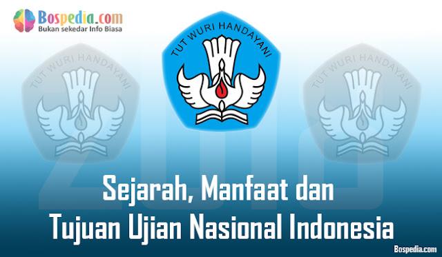 Sejarah, Manfaat dan Tujuan Ujian Nasional Indonesia