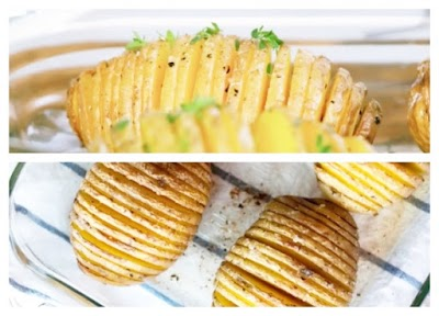 Patata al horno comida rapida
