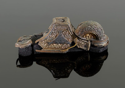 Staffordshire Hoard sword and helmet reconstructed