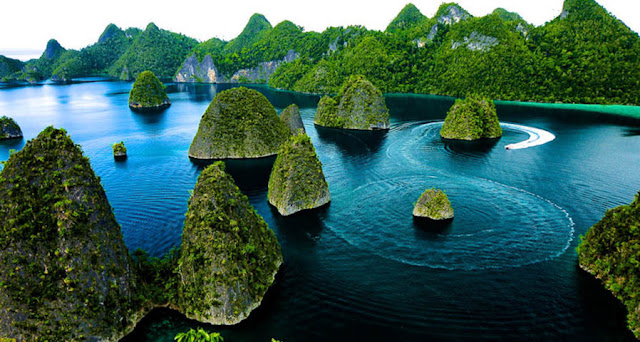 Raja Ampat Islands in Papua