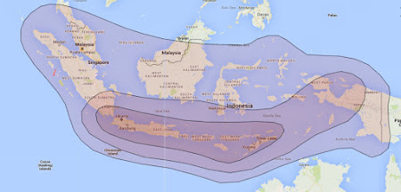 Beam Chinasat 11 Ku Band Indonesia Terbaru