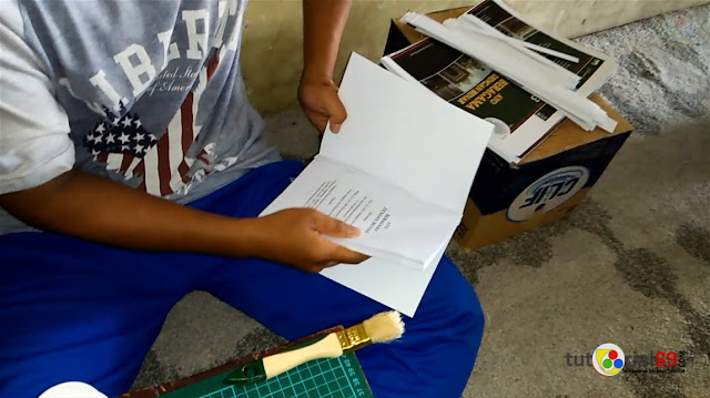 Cara mudah mencetak buku sendiri dengan jilid softcover
