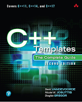C++ Templates The Complete Guide