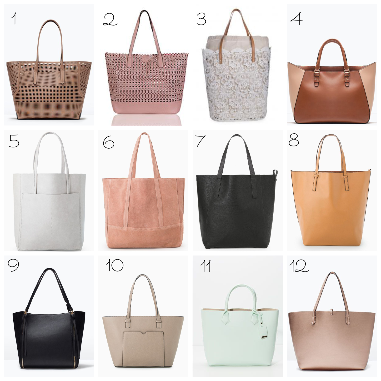 Ioanna's Notebook - SS 2015 Shopper Bags under 40 euros